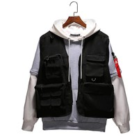 2018 New Brand Military Vests Tactical Black Hunting Travel Vests Mens Pockets Autumn Vests Sleeveless Jackets City Fashion Vest