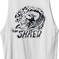 Shred Muscle T-Shirt   RVCA