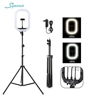 14inch/36cm Led Light For Photography Studio 3 Color Dimmable Light Kit With Stand Ring Light For Video Selfie,makeup Photo