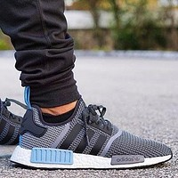Adidas NMD R1 Core Grey Blue City Pack \