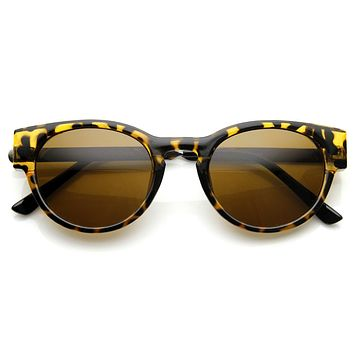Designer Inspired Metal Arm Cat Eye Fashion P3 Sunglasses 8859
