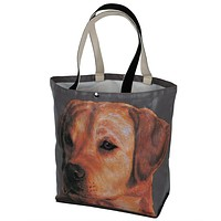 Yellow Lab Canvas Tote