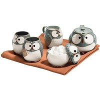 Grey Owl Tea Set