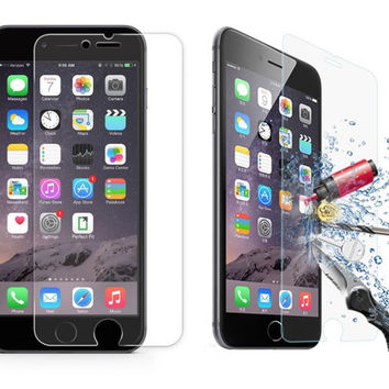Tempered Glass Screen Protector for iPhone 6/6s and iPhone 6/6s plus