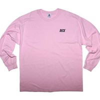 Pastel Pink Logo Long Sleeve