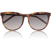Saint Laurent - Round-frame acetate sunglasses