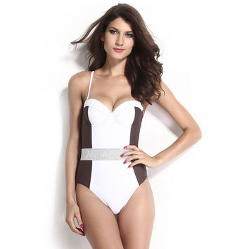 With Steel Wire Ladies Summer New Arrival Swimsuit = 4804206084