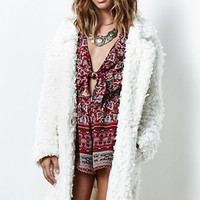 MinkPink Just Obsessed Faux Fur Coat at PacSun.com