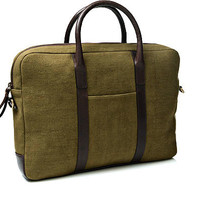 Green Portfolio Bag Bag12301 | Suitsupply Online Store