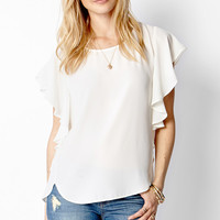 Flutter By Woven Top