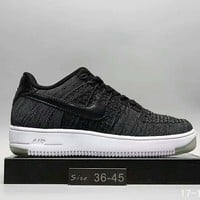 Nike Air Force1 Women Men Running Sport Casual Shoes Sneakers Dark Grey I-A0-HXYDXPF Tagre™