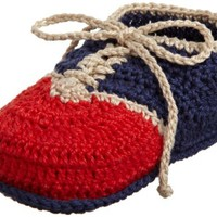 Jefferies Socks Crochet Baby Laceups Shoe