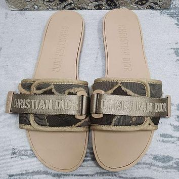 DIOR Fashion casual sandals Shoes slippers