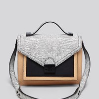 Loeffler Randall Satchel - Embossed Lizard Medium Rider