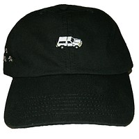 40s & Shorties X Hall of Fame Bronco Dad Hat In Black