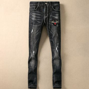 Boys & Men Dolce & Gabbana Fashion Casual Denim Pants Trousers