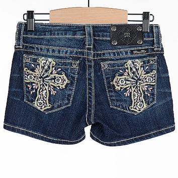 Girls - Miss Me Cross Short