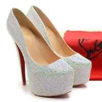 CL Christian Louboutin Fashion Heels Shoes-62