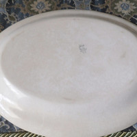 Vintage Hopewell China Platter - Hopewell, Virginia