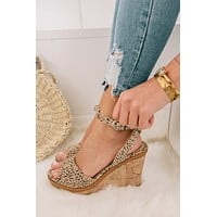 So Much Yes Spotted Wedges (Nude)