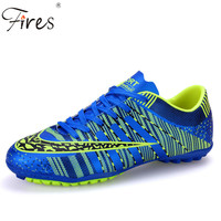 Fires Professional Indoor Soccer Shoes Men Women Rubber Sole lover Football Boots sports Athletic Training Shoes crampons foot