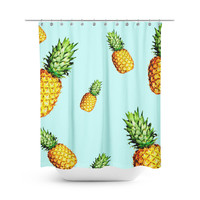 Pineapple Delight Shower Curtain