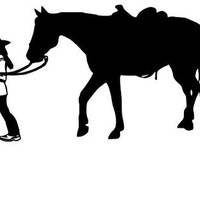 Cowgirl Horse Decal Cowgirl Life Cowgirl At Heart Car Window Decal