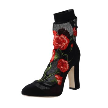 Rose Sock Bootie   Marissa Collections