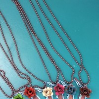 Florida State Flower Necklace