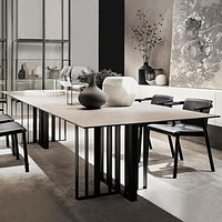 Rectangle Marble Dining Table For Dining Room