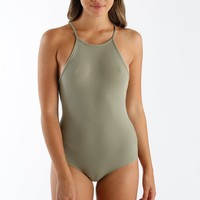 Piece Of Mind Bodysuit in Sage