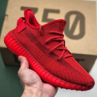 Kanye West x Adidas Yeezy Boost 350 V2 Causal Classic Running Sports Sneakers Shoes Red