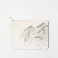 Mountain Canvas Pouch
