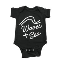 Baby Waves + Sea One-Piece