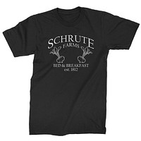 Schrute Farms Bed and Breakfast Office Mens T-shirt