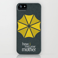 How I Met Your Mother - Minimalist Poster 01 iPhone & iPod Case by Misery