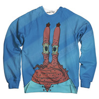 Baked Mr Krabs Sweatshirt