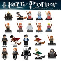 Harry Potter Single Sale Action Figures Hermione Granger Ron Lord Voldemort legoings Draco Malfoy Blocks Gift Toys for children