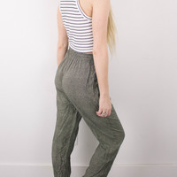 Vintage (SMALL) High Waisted Flowy Pants