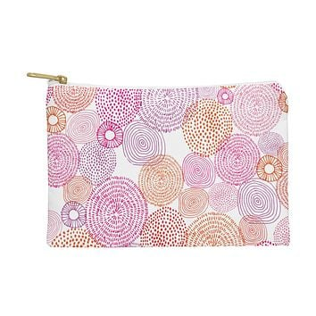 Camilla Foss Circles In Colours I Pouch
