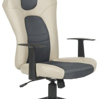 Belinda Desk Chair Grey