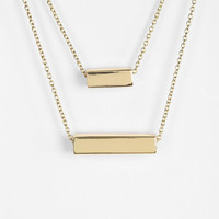 Urban Outfitters - Geo High/Low Necklace
