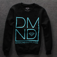 Diamond Supply DMND pullover sweater / Black