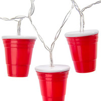 String of Red Cup Party Lights