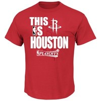 Houston Rockets This Is Playoffs T-Shirt - Red