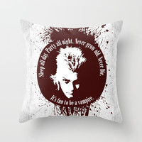 Lost Boys Throw Pillow by Fimbis