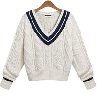 School Knit Sweater from milkball