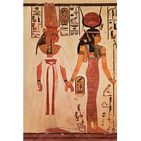 Queen Nefertari Egyptian Art Poster 24x36