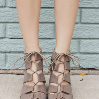 Fashion Faithful Heel - Taupe