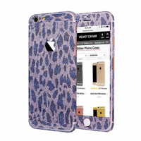 LEOPARD GLITTER DECAL